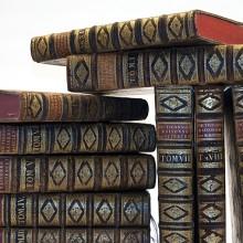 Böcker från magasinet.